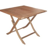 Table carre pliante